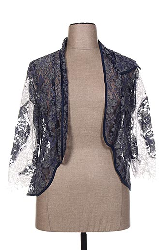 Veste casual bleu CHEMA BLANCO pour femme