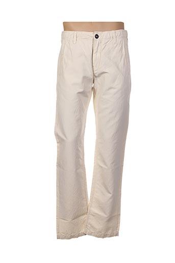 Pantalon casual beige CHEVIGNON pour homme
