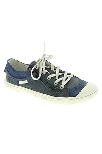 pataugas chaussures garçon de couleur bleu