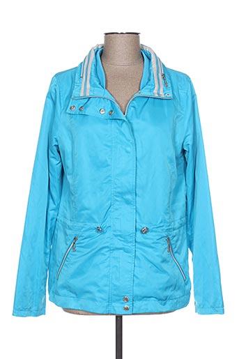 Veste casual bleu REVER MILE pour femme
