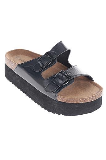 marquise chaussures femme de couleur noir