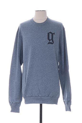 Sweat-shirt bleu GALLIANO pour homme