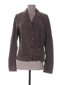 Veste casual marron GALLIANO pour femme