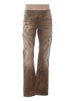 Pantalon casual marron GALLIANO pour homme