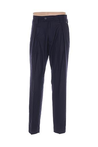 Pantalon chic bleu GALLIANO pour homme