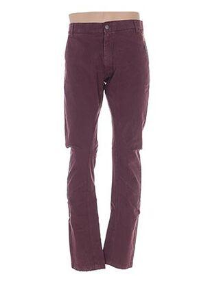 Pantalon casual rouge GALLIANO pour homme