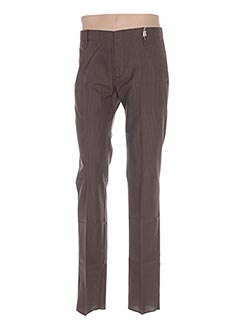 Pantalon chic marron GALLIANO pour homme