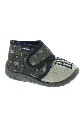beppi chaussures garçon de couleur gris
