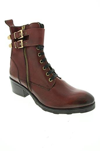 lola espeleta chaussures femme de couleur rouge