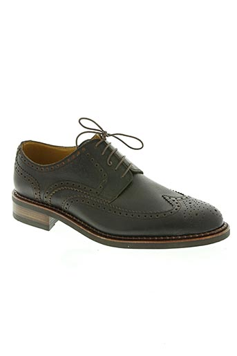 paraboot chaussures homme de couleur marron