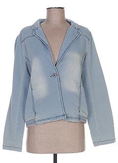 Veste en jean bleu BECKARO pour fille