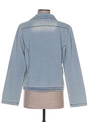 Veste en jean bleu BECKARO pour fille seconde vue