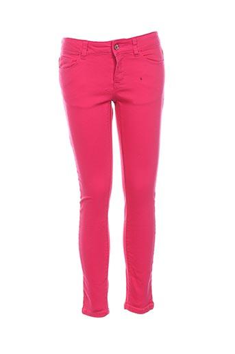 Pantalon casual rose ESPRIT pour fille