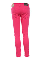 Pantalon casual rose ESPRIT pour fille seconde vue