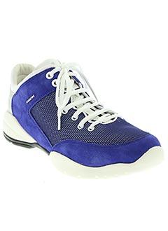 Baskets bleu GEOX pour femme