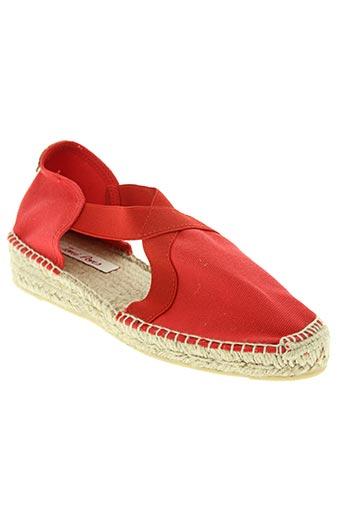 toni pons chaussures femme de couleur rouge