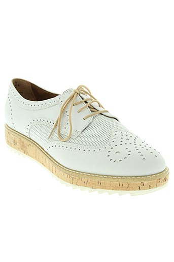 tamaris chaussures femme de couleur blanc