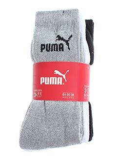 Chaussettes gris PUMA pour femme