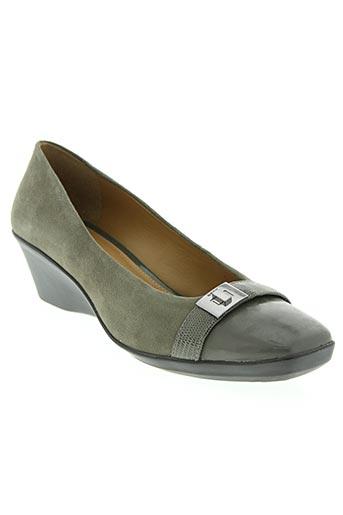 geox chaussures femme de couleur gris