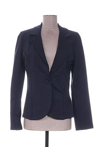 Veste chic / Blazer bleu QUATTRO pour femme