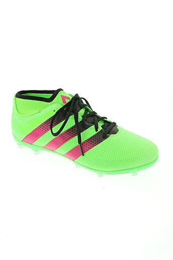 adidas chaussures homme de couleur vert