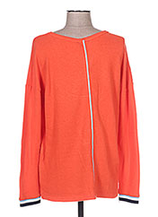 Pull col cheminée orange STREET ONE pour homme seconde vue