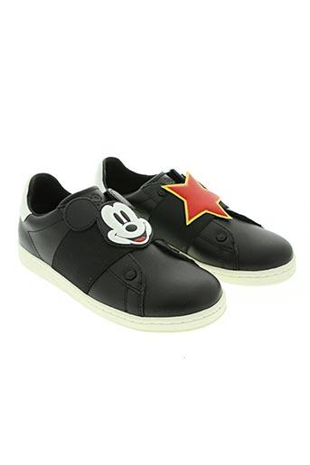 moa master of arts chaussures fille de couleur noir