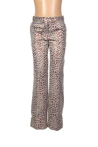 Pantalon casual beige BONPOINT pour fille