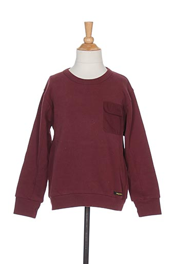 Sweat-shirt rouge FINGER IN THE NOSE pour fille
