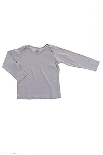T-shirt manches longues gris BONTON pour garçon