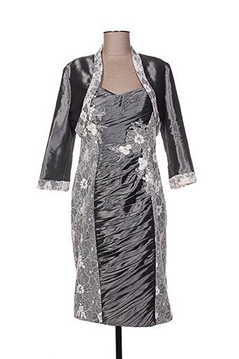 Veste/robe gris CREATIF PARIS pour femme
