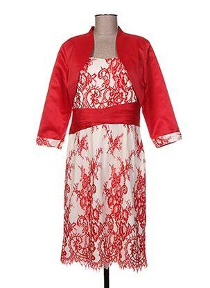 Veste/robe rouge CREATIF PARIS pour femme