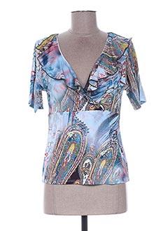 Produit-T-shirts-Femme-BLEU D'AZUR