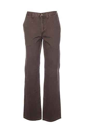 Pantalon casual marron MARION ROTH pour homme