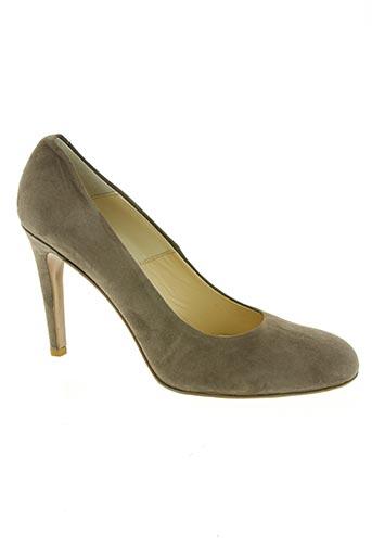 perlato chaussures femme de couleur marron
