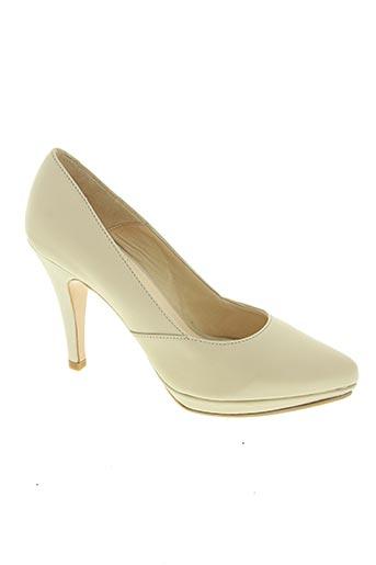 mimi show chaussures femme de couleur beige
