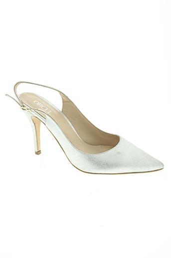 orcel chaussures femme de couleur gris