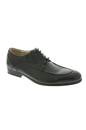 john buckler chaussures homme de couleur noir