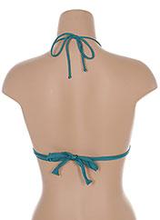 Haut de maillot de bain vert BANANA MOON pour femme seconde vue