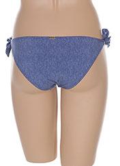Bas de maillot de bain bleu BANANA MOON pour femme seconde vue