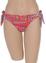 Bas de maillot de bain rouge BANANA MOON pour femme seconde vue