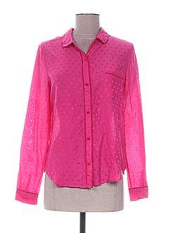 Pyjama rose PRINCESSE TAM-TAM pour femme