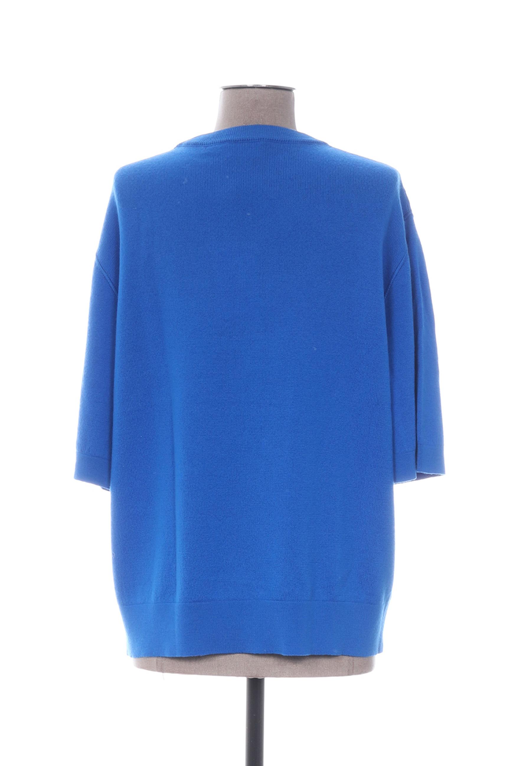 Laurence Bras Cols Ronds Femme De Couleur Bleu En Soldes Pas Cher 1297081-bleu00