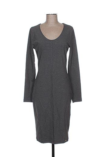 Robe mi-longue gris HANRO pour femme