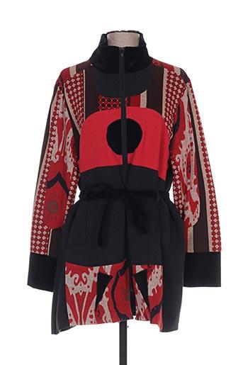 Manteau long rouge ALL BEAUTIFUL pour femme