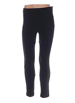 Pantalon casual noir RINASCIMENTO pour femme