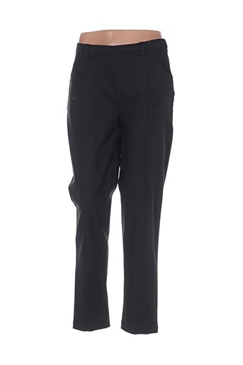 Pantalon casual noir ALICE ET BARNABE pour femme