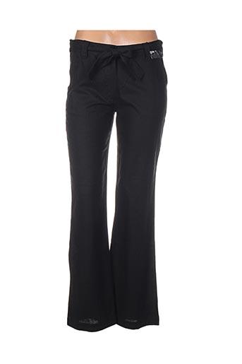 Pantalon casual noir EMOI BY EMONITE pour femme