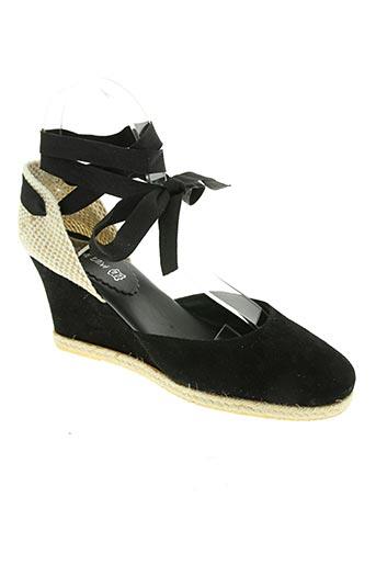 via degli ulivi chaussures femme de couleur noir