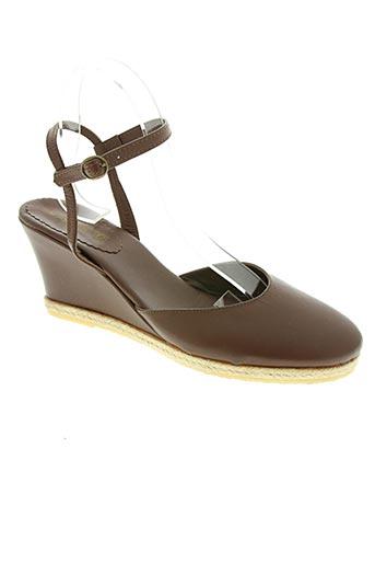 via degli ulivi chaussures femme de couleur marron